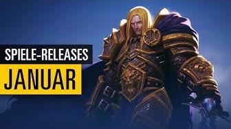 Spiele-Releases im Januar 2020   Für PC, PS4, Xbox One und Switch