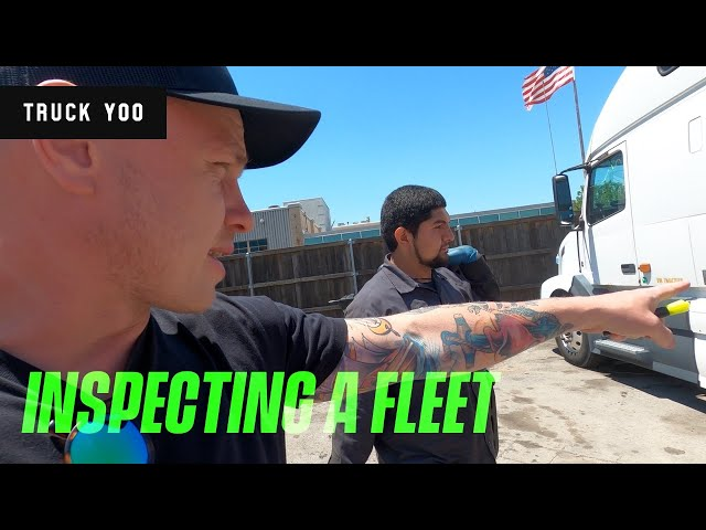 Inspecting a fleet of trucks for a customer. Is it a good buy?