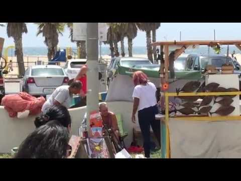 Venice Beach Bum Fight