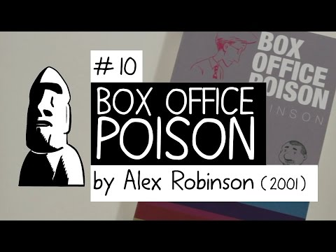 """Box Office Poison"" by Alex Robinson (2001) - Top 10 Essential Graphic Novels 01 - #10"