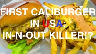 FIRST EVER CALIBURGER IN THE UNITED STATES: RESTAURANT REVIEW | Me From The Past