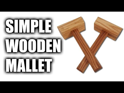 How to Make a Simple Wooden Mallet