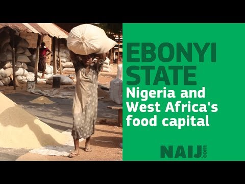 Ebonyi state, Nigeria and West Africa's food capital