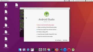 Installing Android Studio | ACER Aspire V5-123 | AMD E1-2100 | UBUNTU 16.04
