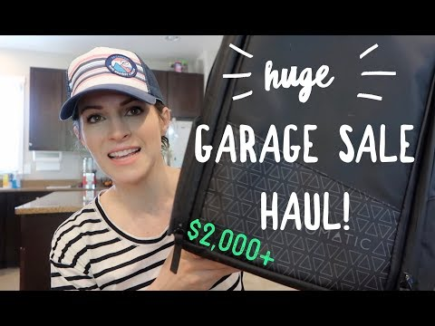 huge-garage-sale-haul!-$2400-in-potential-sales-to-resell-on-ebay-and-amazon!