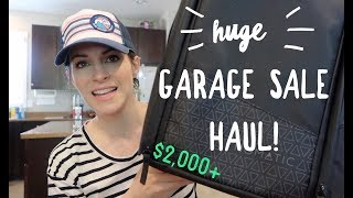 Huge Garage Sale Haul! $2400 in Potential Sales to Resell on eBay and Amazon!