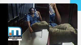 Young man creates panic in Guruvayur police station| Mathrubhumi News