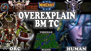 Grubby | Warcraft 3 TFT | 1.30 | ORC v NE on Terenas Stand - Overexplain BM TC