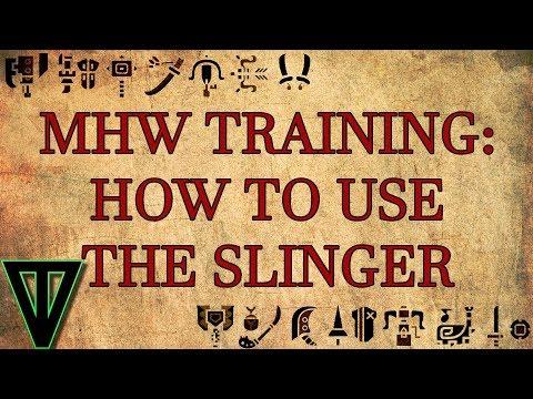 MHW - Slinger Training