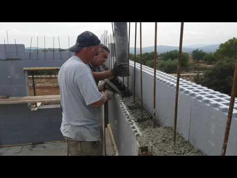 StyroStone ICF concrete pour Castellon2