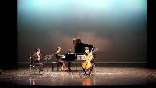 Hommage to Alphonse Duadet - So hyun Kim (piano,cello,flute trio) 1