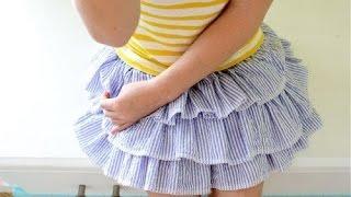 видео юбка американка детская