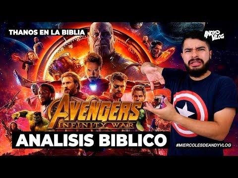 ANÁLISIS BÍBLICO INFINITY WAR!   THANOS EN LA BIBLIA SIN SPOILERS   AndyVlog!