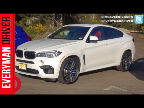 Here's the 2015 BMW X6 M on Everyman Driver