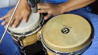 HOW TO PLAY CUMBIA ON BONGO - CUMBIA BONGO REPIQUES (PEPON CLASES DE PERCUSION)