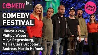 hr Comedy Festival vom 03.12.2019 mit Mirja, Maria Clara, Cüneyt, Philipp, Andreas Martin und Tim