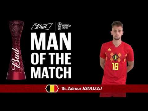 Adnan JANUZAJ (Belgium)  - Man of the Match - MATCH 45