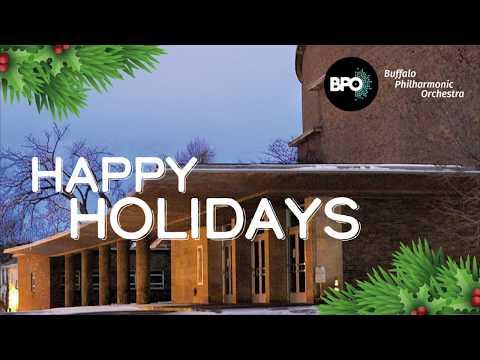 Happy Holidays From The Buffalo Philharmonic!
