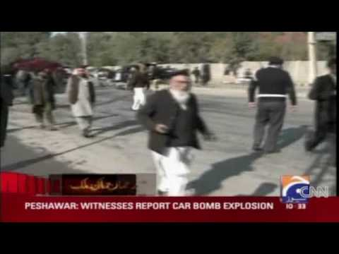 Suicide bomber hits Peshawar