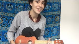 I Don&#39t Know My Name - Grace VanderWaal  a quick + messy ukulele cover