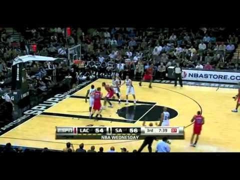 Clippers vs Spurs 2010 NBA Season 11/10/2010