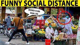 New Way of Social Distance in Pakistan - Prank - Lahori PrankStar