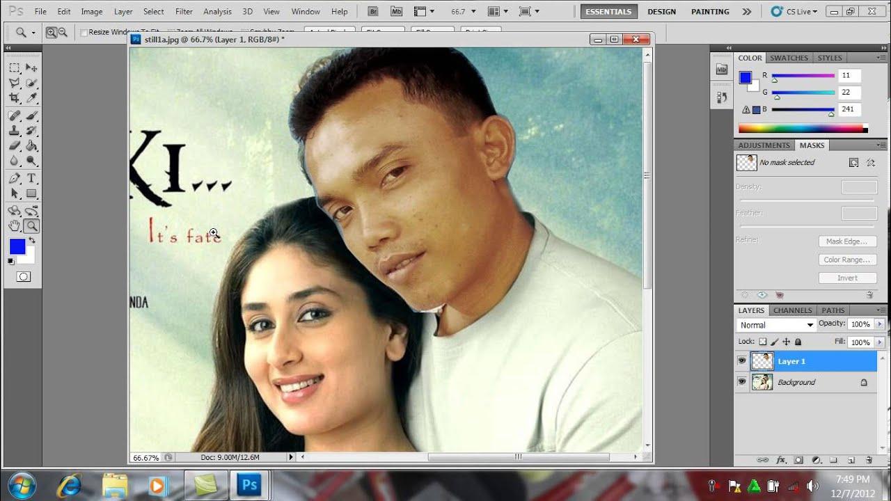 Cara meng foto dengan photoshop cs2 7
