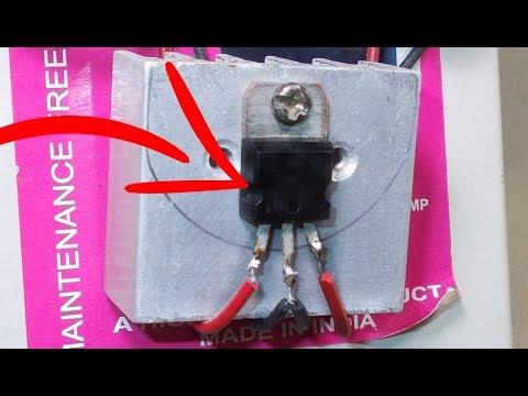 Step Down Voltage Converter 12 volt to 5 volt | 5v power supply using 7805 voltage regulator design