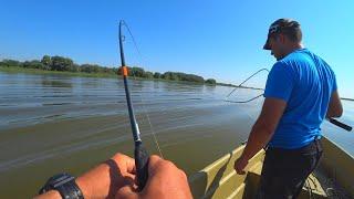 СПИННИНГ ДУГОЙ  ДУМАЛ ТРОФЕЙНЫЙ СУДАК рыбалка в Астрахани