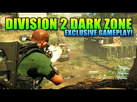 Division 2 Dark Zone & Conflict First Look Gameplay | Captured @ 4K