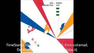 GDG Modern Trio - Spazio 1918 (OFFICIAL AUDIO)