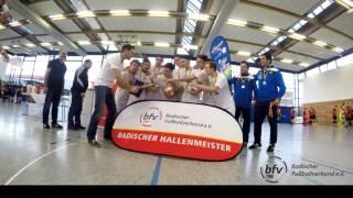 imSpiel 17/2 - Siegerehrung Badische Futsal-Meisterschaft 2016/2017