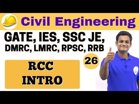 3:00 PM | Civil by Nikhil Sir | Day #26 | RCC INTRO
