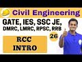 3:00 PM | Civil by Nikhil Sir | Day #26 | RCC INTRO