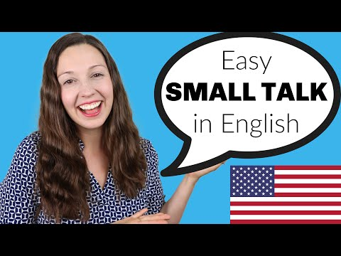Easy SMALL TALK tips in English: English Speaking Practice