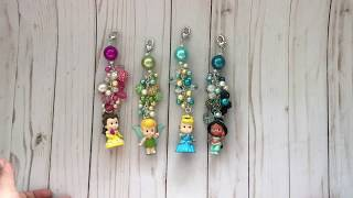 Disney Inspired charms/keychains