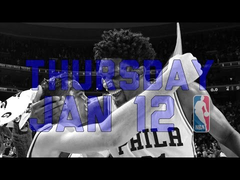 NBA Daily Show: Jan. 12 - The Starters