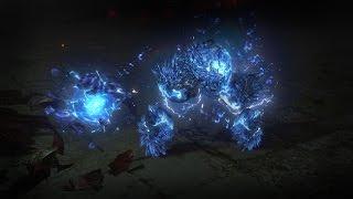 Path of Exile - Summon Lightning Golem Skill Demo