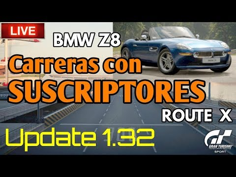 🔴 Directo de Gran Turismo Sport - Actualización 1.32 | Corriendo con suscriptores thumbnail