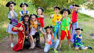 Фото Вани 6 лет. Программа Пираты Нетландии на берегу реки Москва