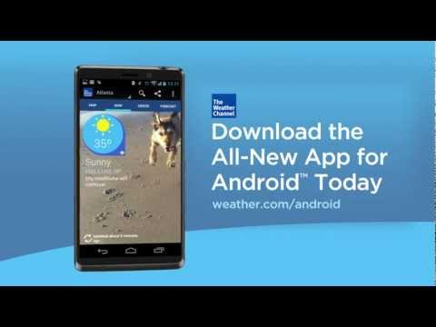 The Weather Channel For Android App
