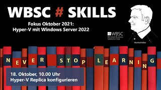 Hyper-V Replica in Windows Server 2022 konfigurieren