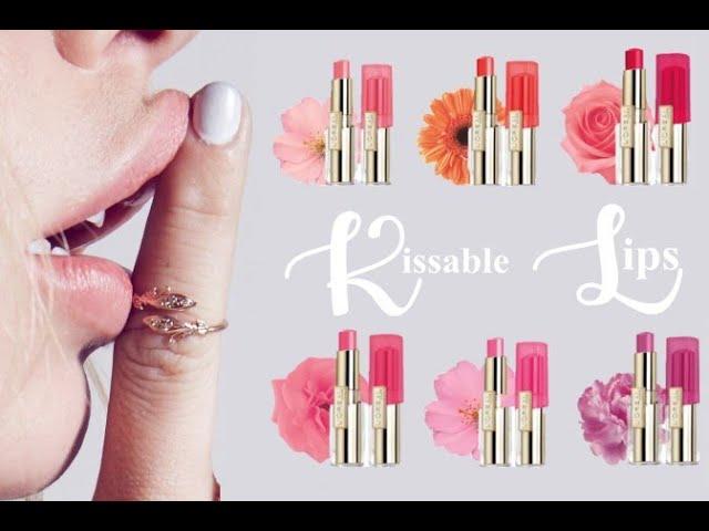 Kissable的嘴唇很重要!塗了會令人想親一口的輕唇膏