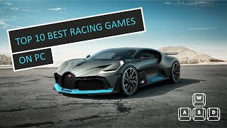 TOP 10 BEST RAĊING GAMES ON PC IN 2021
