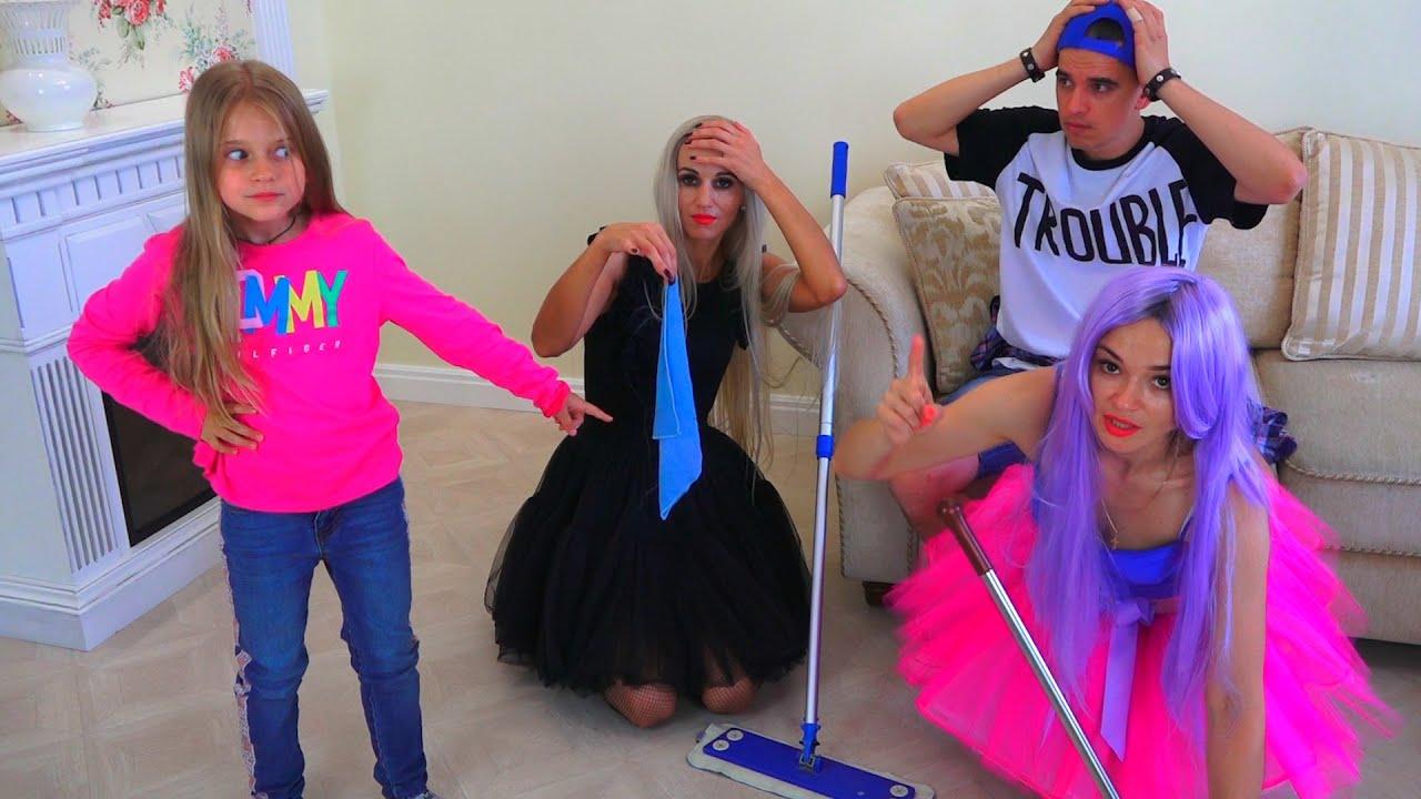 Мария, Вика и Панки стали уборщиками!!! Сериал для подростков ЛОЛ в реальной жизни  Real Life LOL
