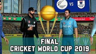 Cricket World Cup Final - England vs New Zealand Live stream prediction Real cricket 19 expert mode
