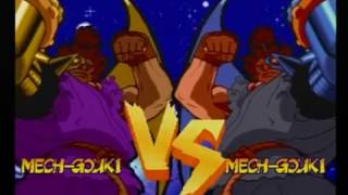 Marvel Super Heroes VS. Street Fighter (Sega Saturn) - Mech-Gouki RAMPAGE