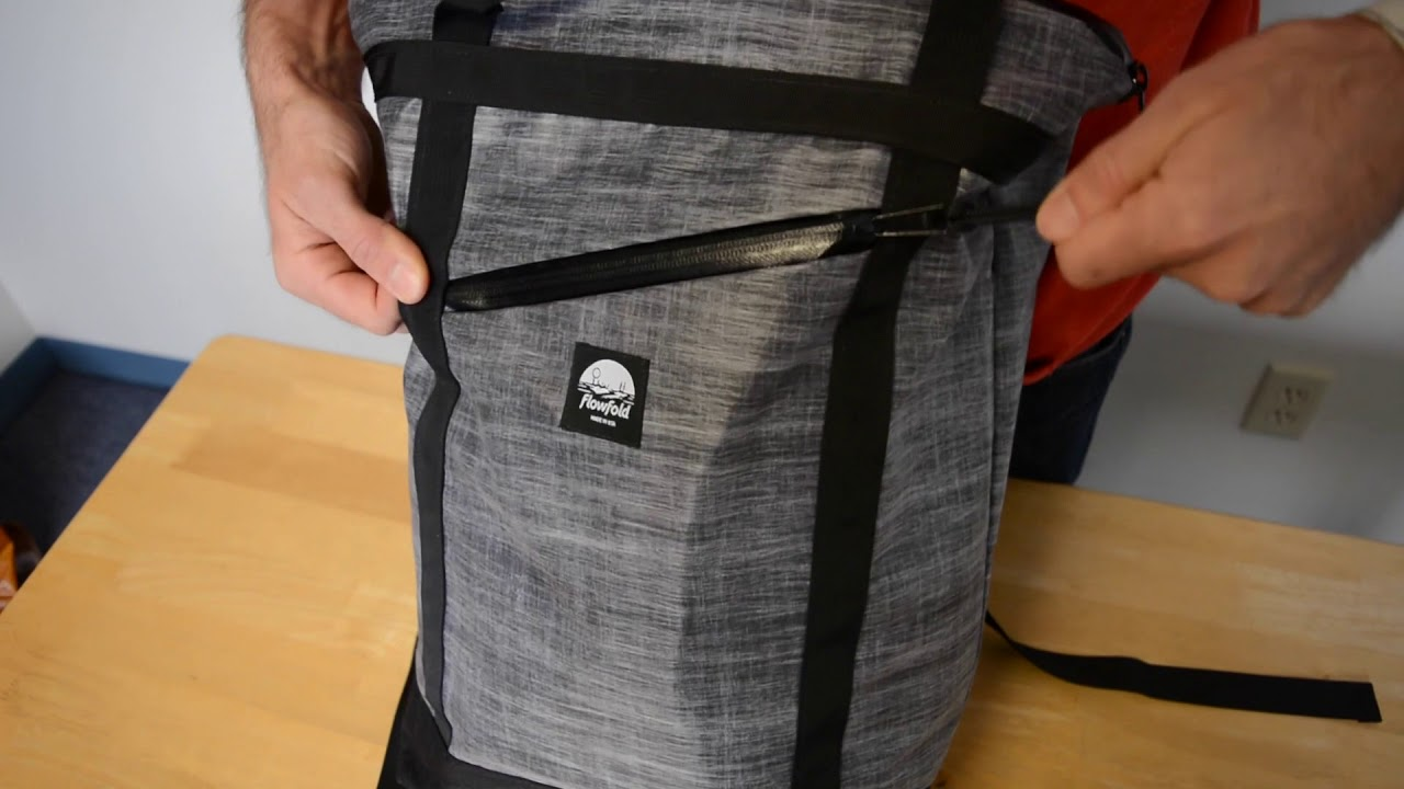 Flowfold Denizen Tote Backpack Overview - YouTube 702ce8bc7c