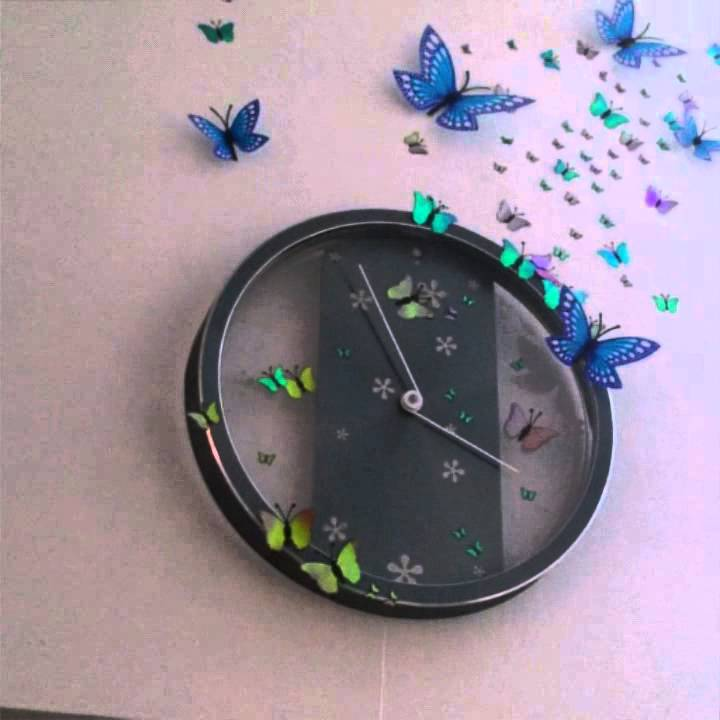 diy wall clock decoration youtube