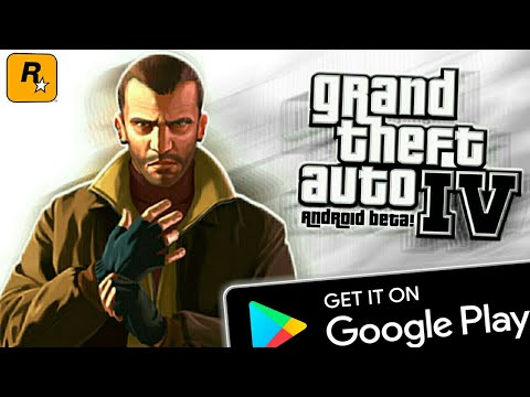 GTA 4 MOBILE - GET [OFFICIAL] GTA IV ANDROID BETA (ANDROID & IOS)